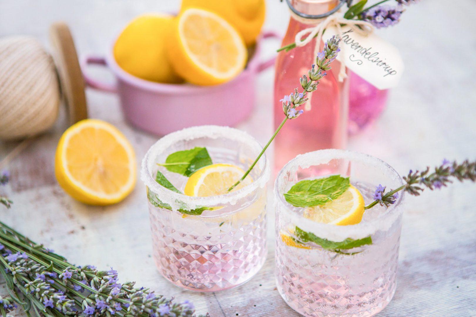 Lavendel Sirup Rezept Sommer Lavendelsirup Rezept