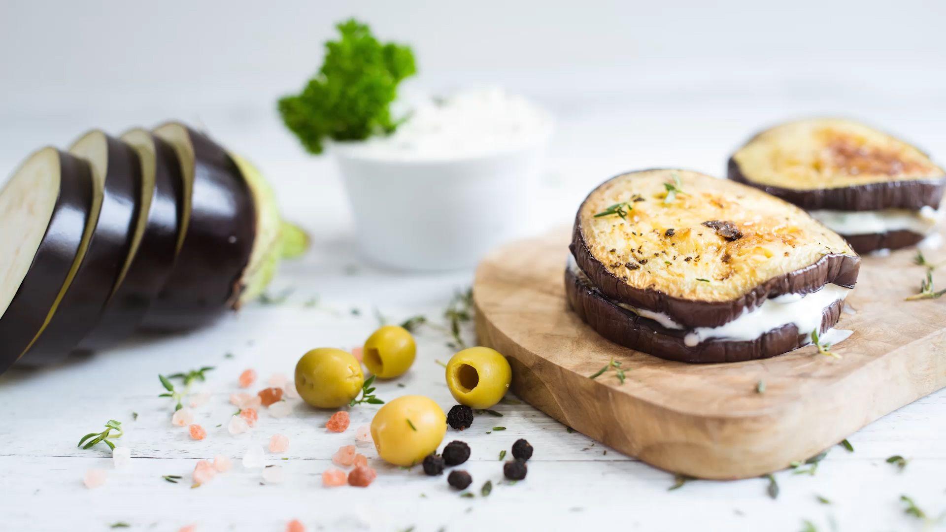 melanzani sandwich wenn 39 s mal keine kohlenhydrate sein sollen. Black Bedroom Furniture Sets. Home Design Ideas