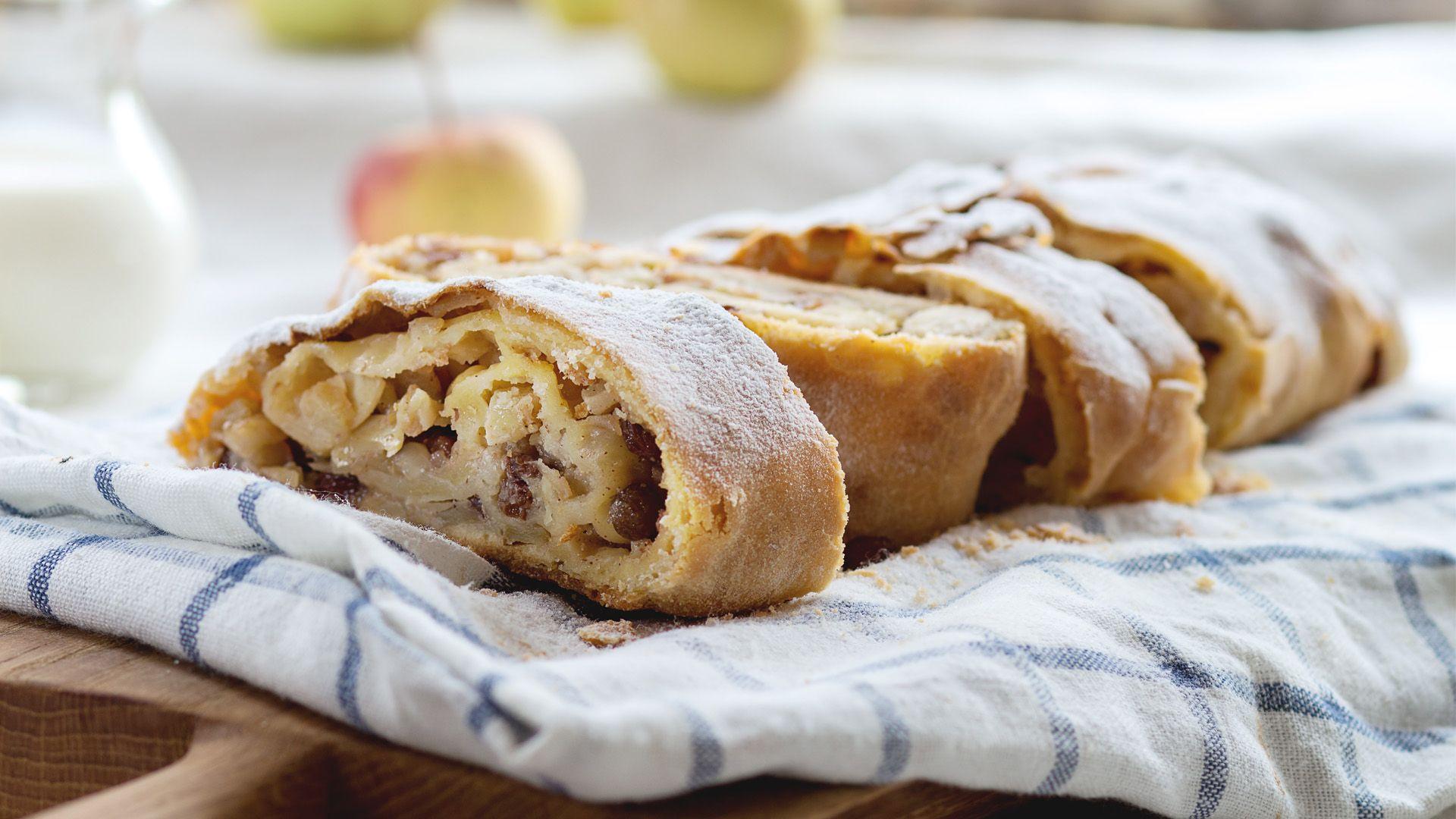 Wiener Apfelstrudel mit Rosinen von Lidl Österreich