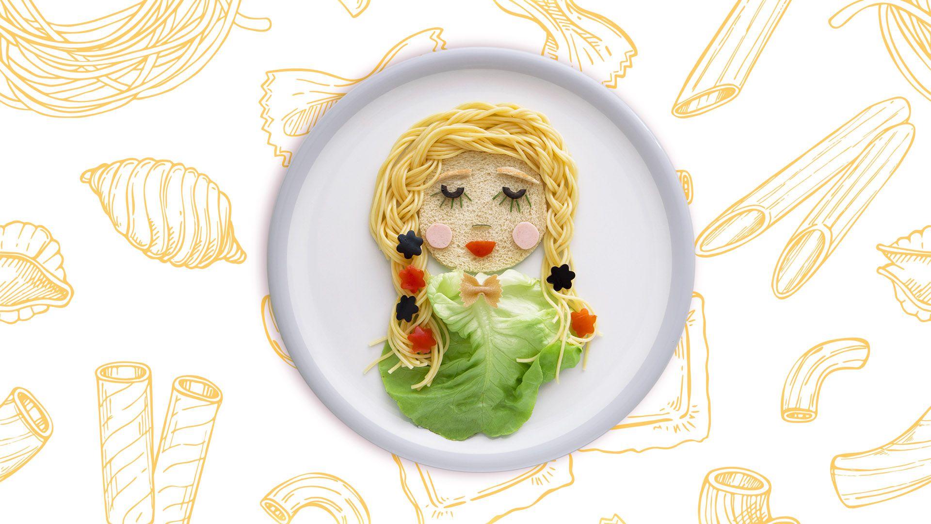 Rapunzel-Märchenteller Tellertekoration für Kinder von Lidl Österreich