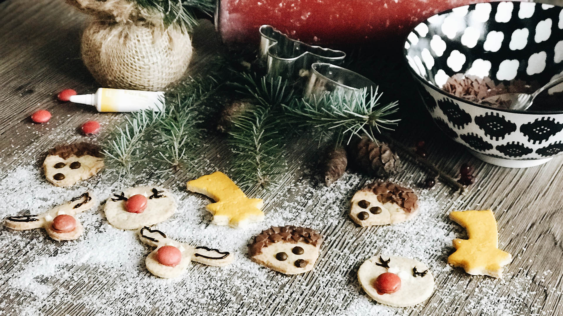 Süße Waldtierkekse mit Vanillegeschmack von Bloggerin stroller_mum und Lidl Österreich
