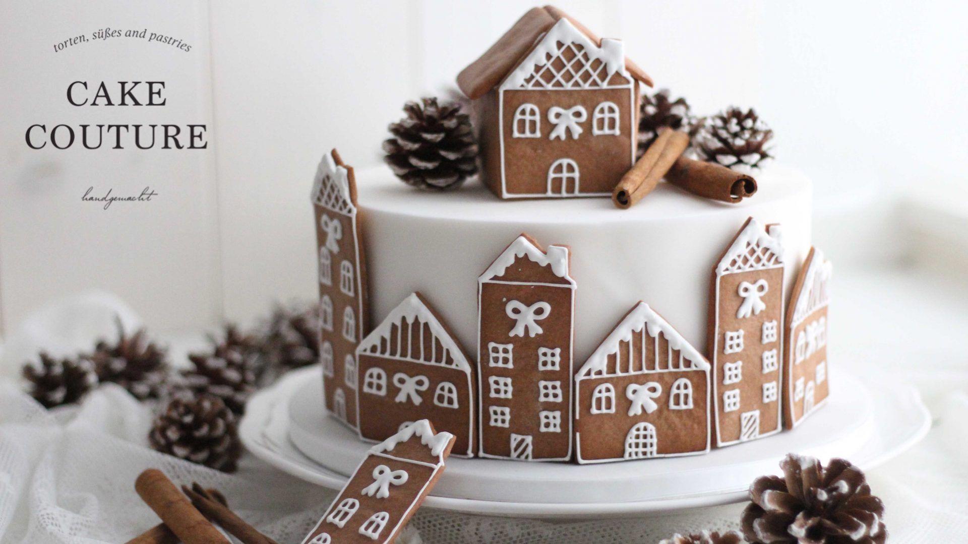 Weihnachtliche Lebkuchentorte Cake Couture