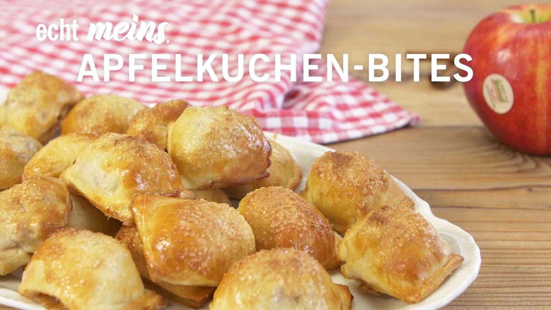 Video Rezept für Apfelkuchen-Häppchen von Lidl Österreich