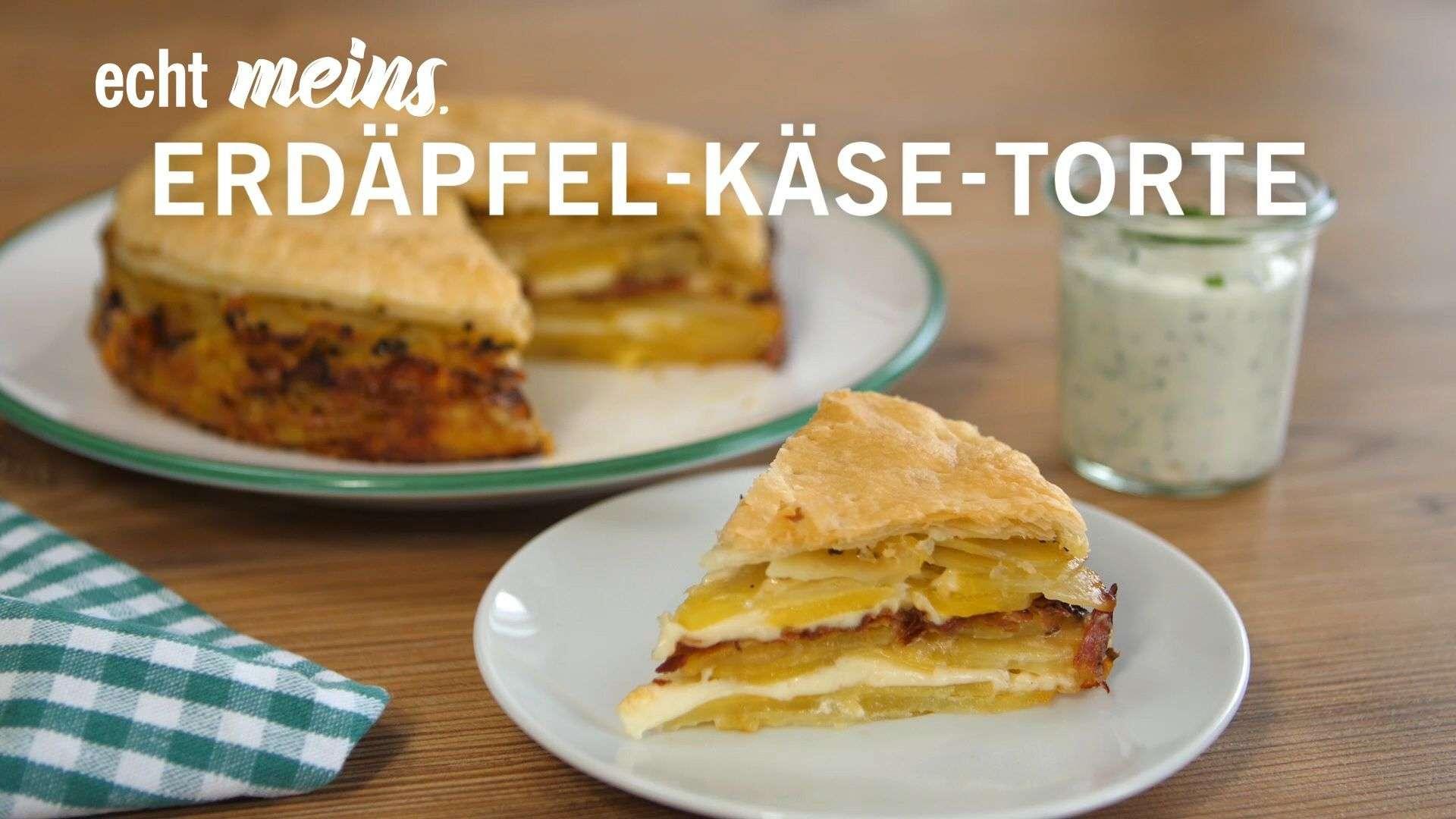 Video Rezept für Gschmackige Erdäpfel-Käse-Torte von Lidl Österreich