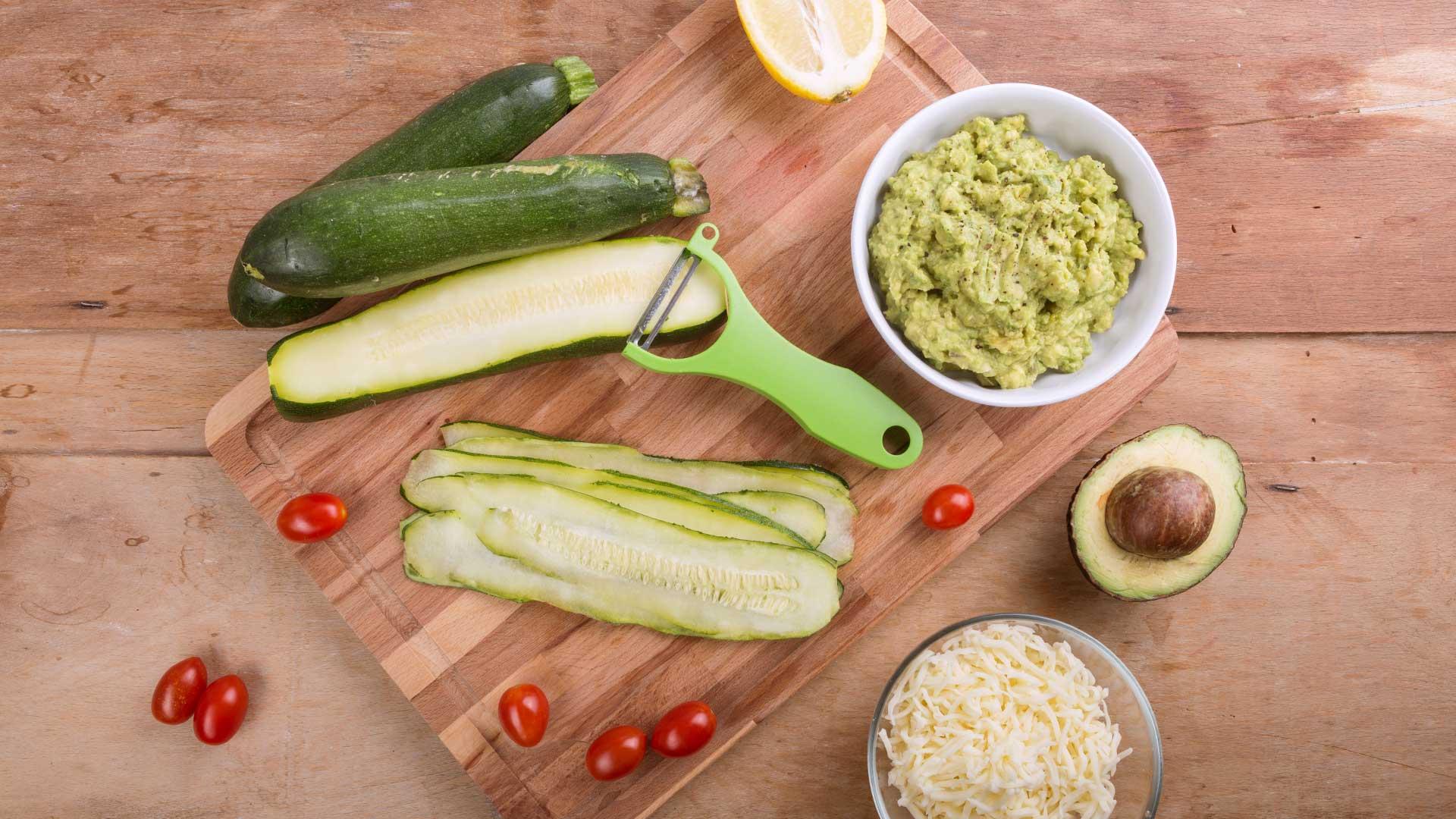 Zutaten Zucchini-Avocado-Taschen von Lidl Österreich