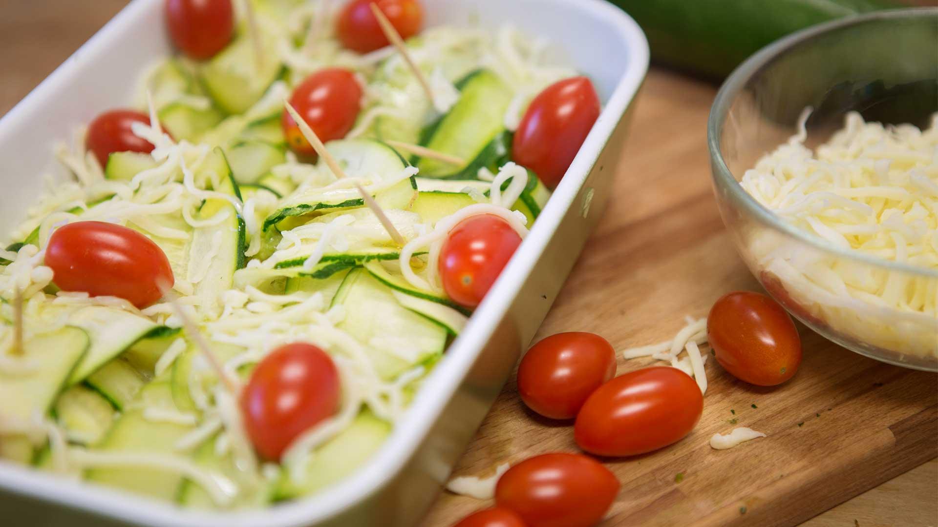 Zubereitung Zucchini-Avocado-Taschen von Lidl Österreich