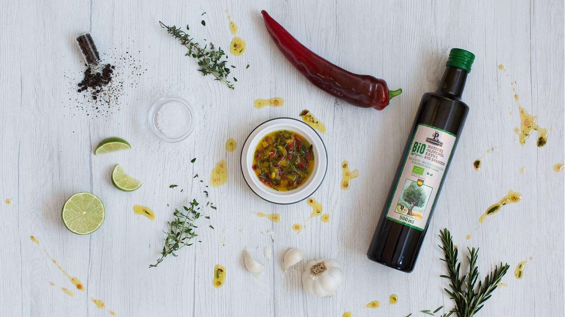 Rezept für Erfrischende Grillmarinade für Hendlfleisch von Lidl Österreich
