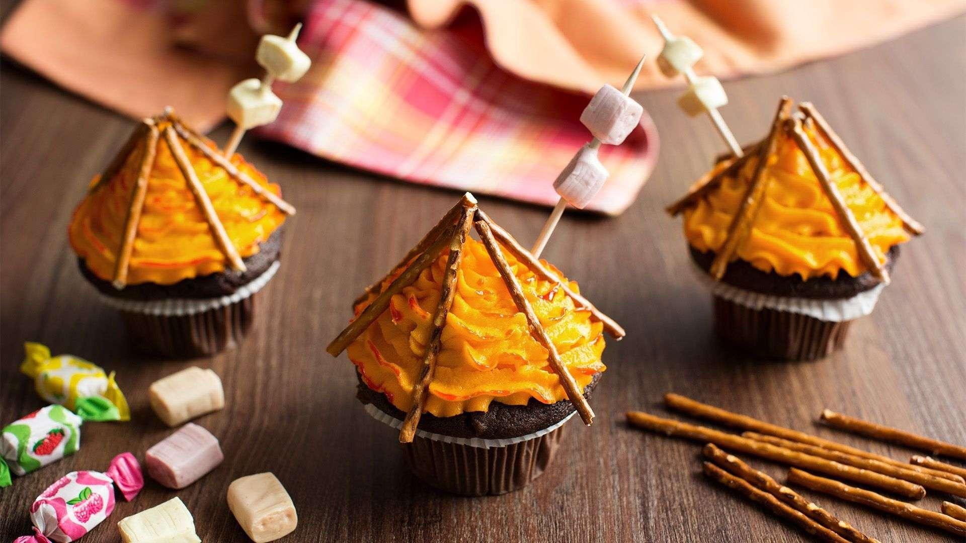 Rezept für coolen Lagerfeuer-Muffin von Lidl Österreich